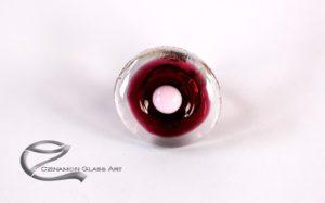 Bordó női gyűrű