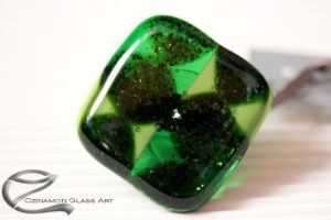 Zöld üvegékszer