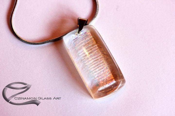 Dichroic üveg medál