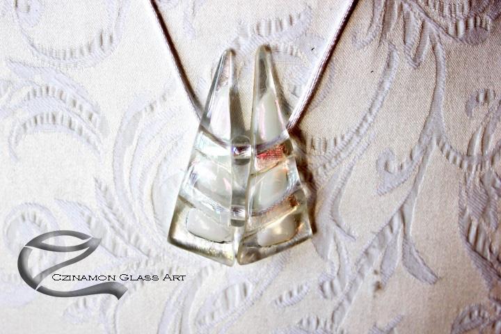Csillogó üvegmedál