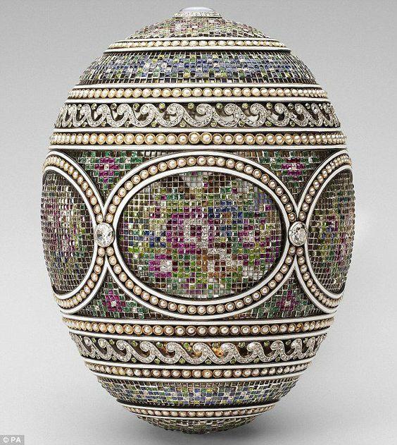 Faberge ékszerek, igazi húsvéti különlegesség