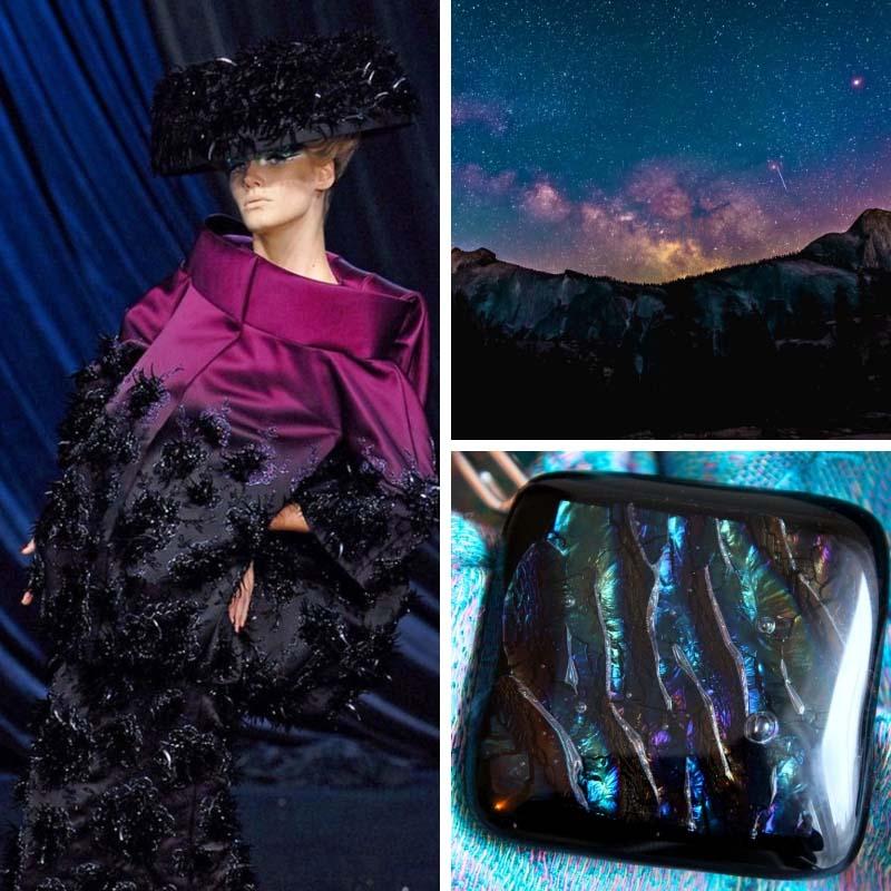 A Nyilas színe az asztrológia tekintetéből és az üvegékszereim