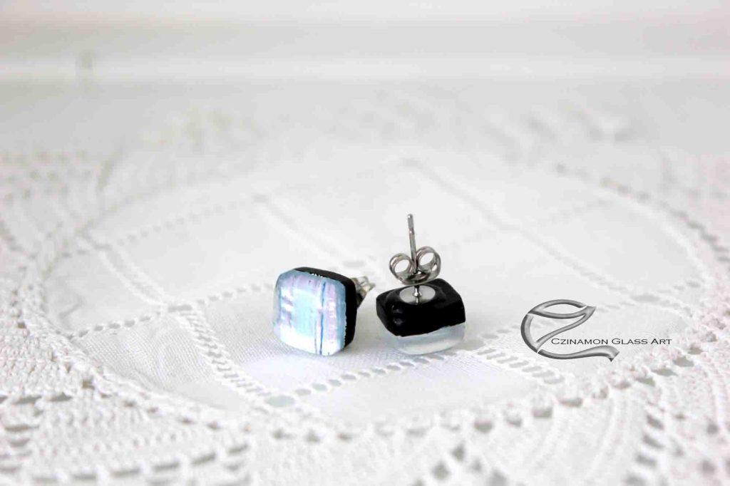 Ezüst dichroic üvegfülbevaló