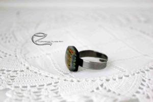 Narancsvörös dichroic gyűrű