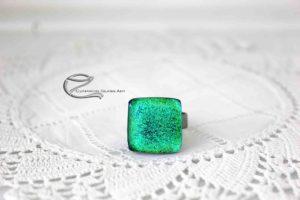 Zöld dichroic gyűrű